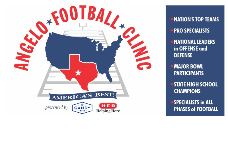 Angelo Football Clinic: Super Bowl Champions  National